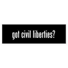 Got Liberties? Bumper Bumper Sticker
