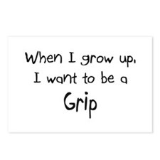 When I grow up I want to be a Grip Postcards (Pack