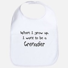 When I grow up I want to be a Grenadier Bib