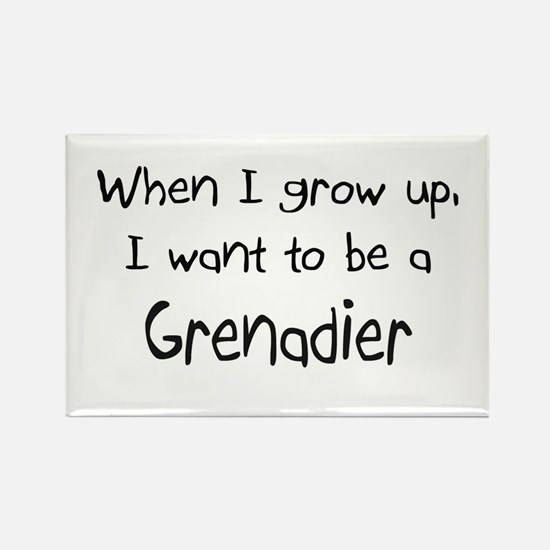 When I grow up I want to be a Grenadier Rectangle