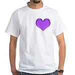 Purple Heart White T-Shirt