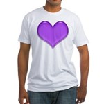 Purple Heart Fitted T-Shirt