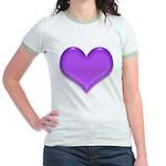 Purple Heart Jr. Ringer T-Shirt