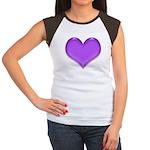 Purple Heart Women's Cap Sleeve T-Shirt