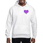Purple Heart Hooded Sweatshirt