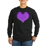 Purple Heart Long Sleeve Dark T-Shirt