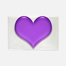 Purple Heart Rectangle Magnet