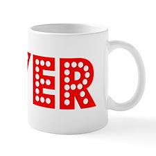 Retro Dyer (Red) Mug