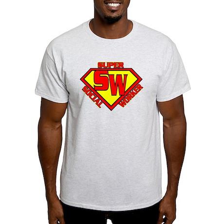 Super Social Worker Light T-Shirt