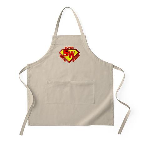 Super Social Worker BBQ Apron