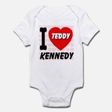 I Love Teddy Kennedy Infant Bodysuit