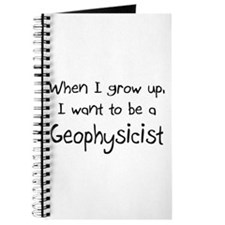 When I grow up I want to be a Geophysicist Journal