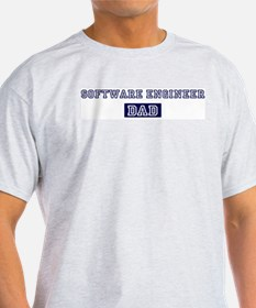 Software Engineer dad T-Shirt