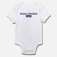 Social Worker dad Infant Bodysuit