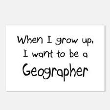 When I grow up I want to be a Geographer Postcards