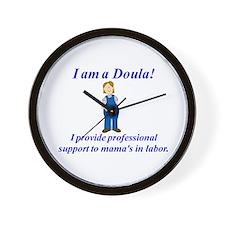 I am a Doula Wall Clock