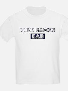 Tile Games dad T-Shirt