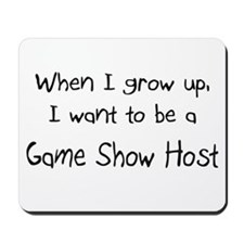 When I grow up I want to be a Game Show Host Mouse