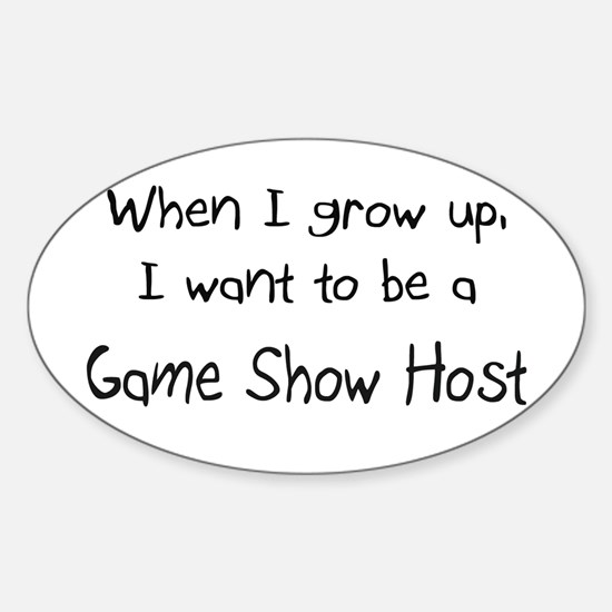 When I grow up I want to be a Game Show Host Stick