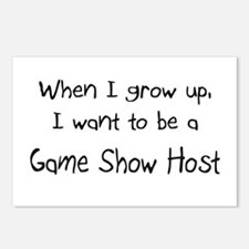 When I grow up I want to be a Game Show Host Postc