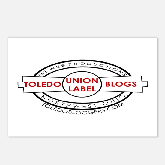 Toledo Bloggers Union Logo Postcards (8)