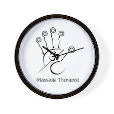 Cute Massage therapist Wall Clock