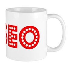 Retro Eliseo (Red) Mug