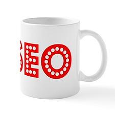 Retro Eliseo (Red) Mug