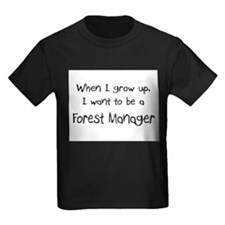 When I grow up I want to be a Forest Manager Kids