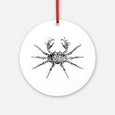Alaskan Crab Ornament (Round)