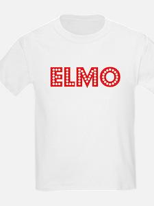 Retro Elmo (Red) T-Shirt