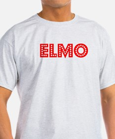 Retro Elmo (Red) T-Shirt