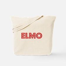 Retro Elmo (Red) Tote Bag