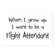 When I grow up I want to be a Flight Attendant Pos