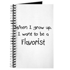 When I grow up I want to be a Flavorist Journal