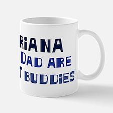Briana and dad Small Small Mug