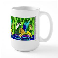 Winged Lion and the Unicorn Mug