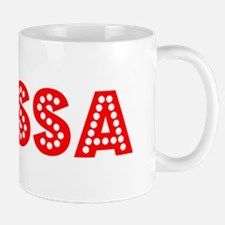 Retro Elyssa (Red) Mug