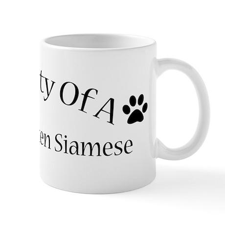 Spoiled Rotten Siamese Mug