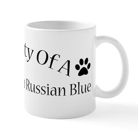 Spoiled Rotten Russian Blue Mug