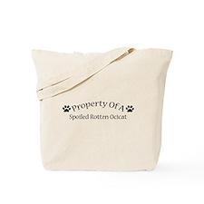 Spoiled Rotten Ocicat Tote Bag