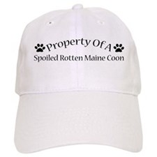 Spoiled Rotten Maine Coon Baseball Cap