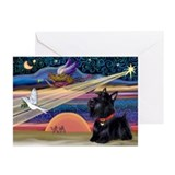 Scottie christmas Greeting Cards (10 Pack)