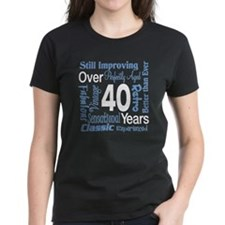 Over 40, 40th Birthday Tee