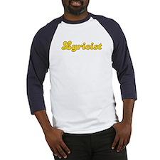 Retro Lyricist (Gold) Baseball Jersey