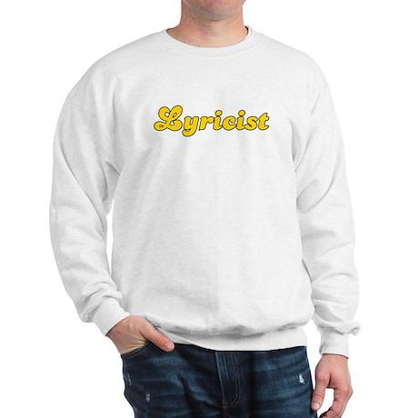 Retro Lyricist (Gold) Sweatshirt