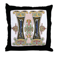 Lough Derg Throw Pillow