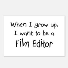 When I grow up I want to be a Film Editor Postcard