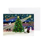 XmasMagic/Corgi (5C) Greeting Card