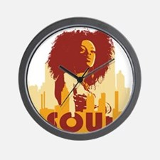 City Soul Wall Clock